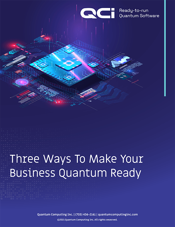 Three Ways to Make Your Business Quantum Ready executive brief