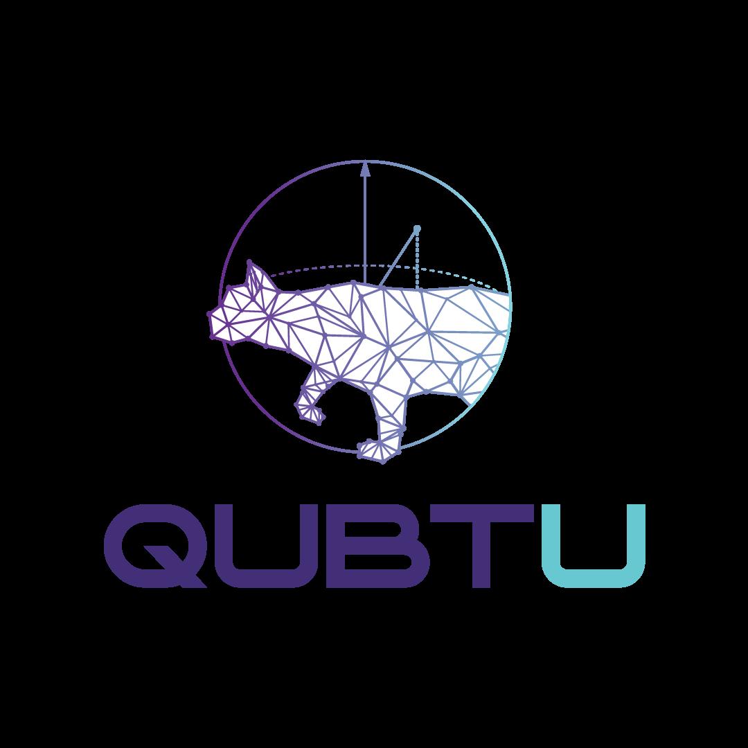 QUBT U logo